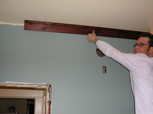 Craftsman Crown Molding : easy craftsman crown  Trimming the house  Pinterest