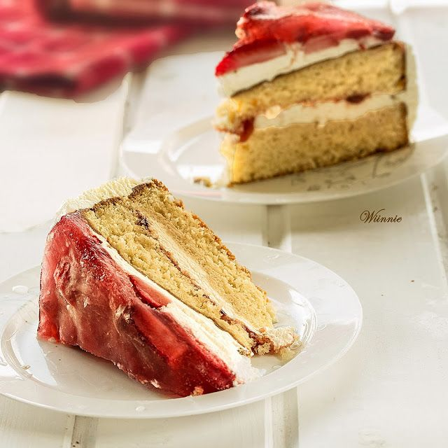 Strawberry Torte Cake | oh-cake! | Pinterest