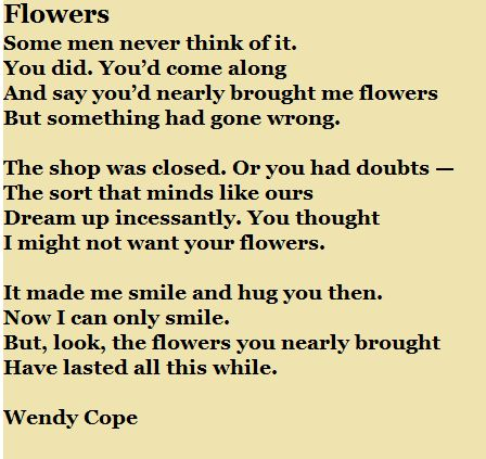 wendys poem He also posits that wendy's would serve well as a site for state-sponsored  to  releasing innovative works in all genres by poets (wenderoth is the author of two .