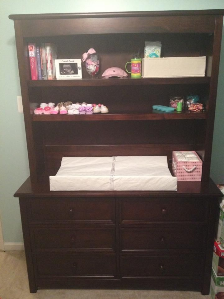 bookcase changing table sweet dreams nursery