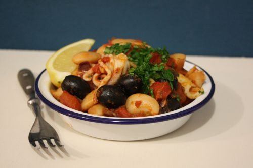 Jamie Oliver stewed squid with tomatoes | L'art de cuisine. | Pintere ...