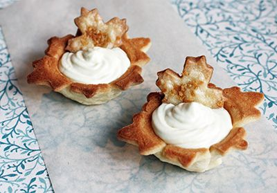 DB: Maple mousse in maple cookie cups | Cookies and Squares | Pintere ...