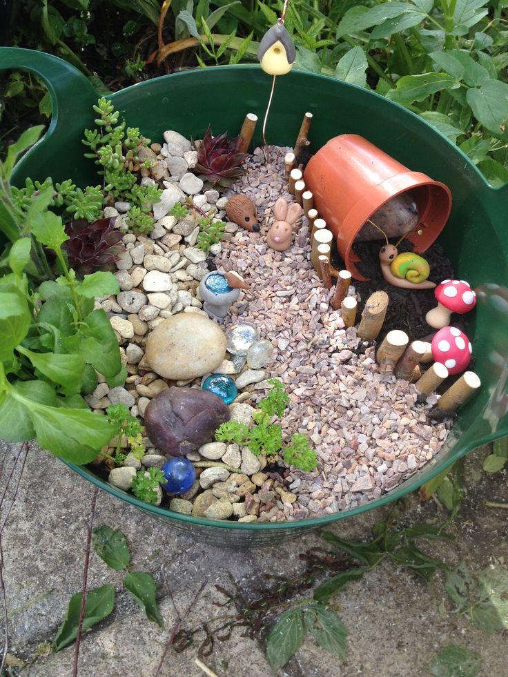 diy miniature garden kit fairy garden pinterest