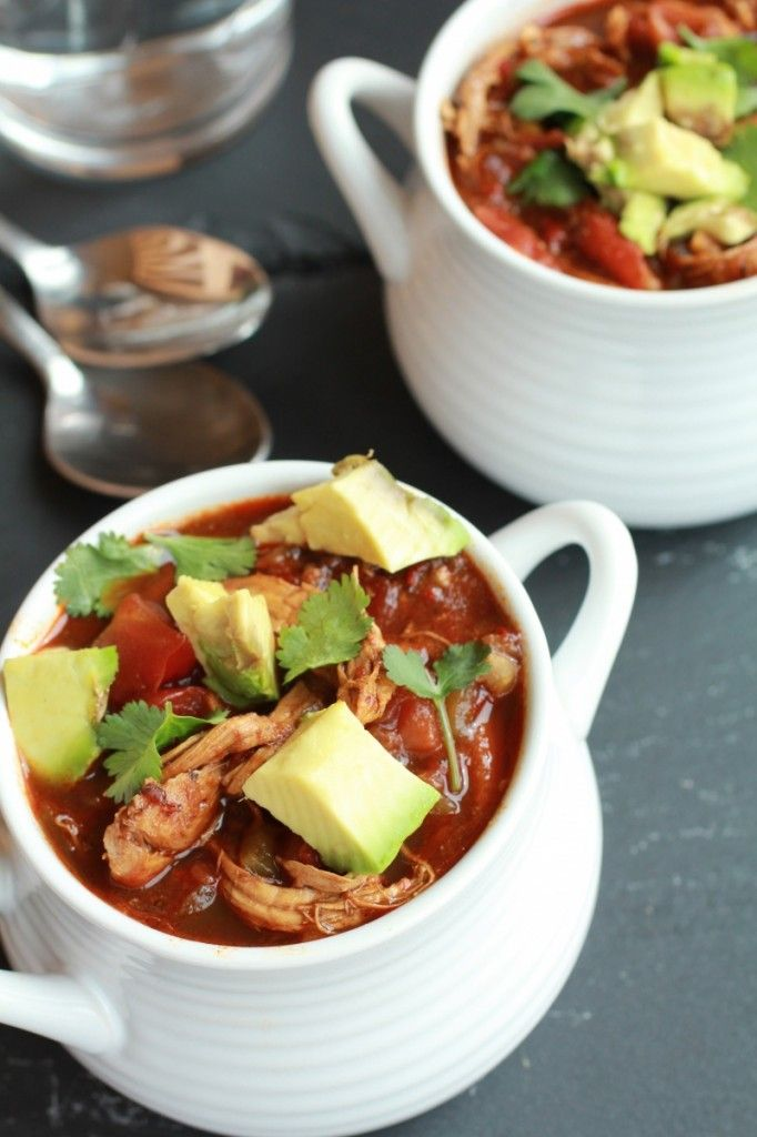 Smoky Chipotle Chocolate Chicken Chili | Recipe