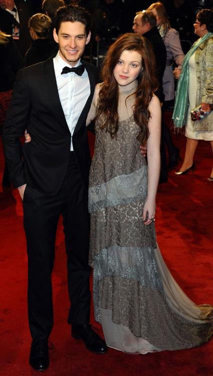 Georgie Henley couple