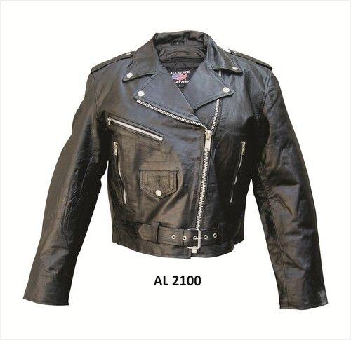 Kids Apparel > Kids Motorcycle Jacket - Soft Lambskin Leather