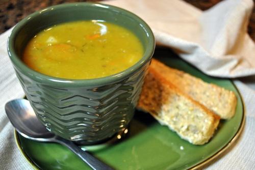 Smoky Vegan Split Pea Soup | Vedged Out
