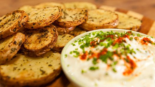 Rosemary and Sea Salt Baked Potato Chips | Recipes | Pinterest