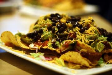 Black Bean Nachos | Recipes to try | Pinterest