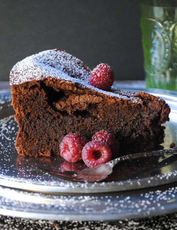 Flourless Chocolate Cake | Yummy Desserts | Pinterest