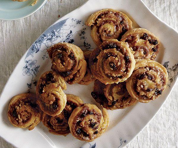 Cinnamon-Raisin-Walnut Pinwheels by Fine Cooking