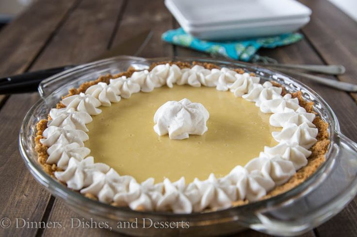 Creamy Key Lime Pie from Dinners, Dishes, and Desserts
