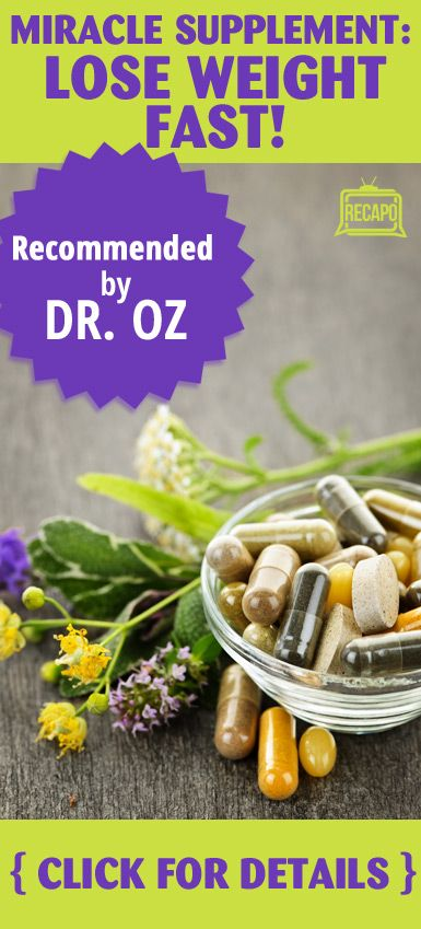 Need to try a new weight loss method? This Dr. Oz approved supplement