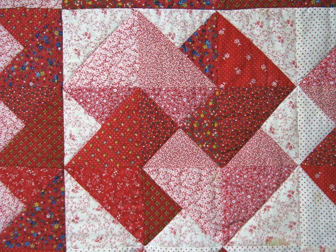Quilting Pattern Card Trick Block : [red+card+trick+close.jpg] Quilt - Blocks Pinterest