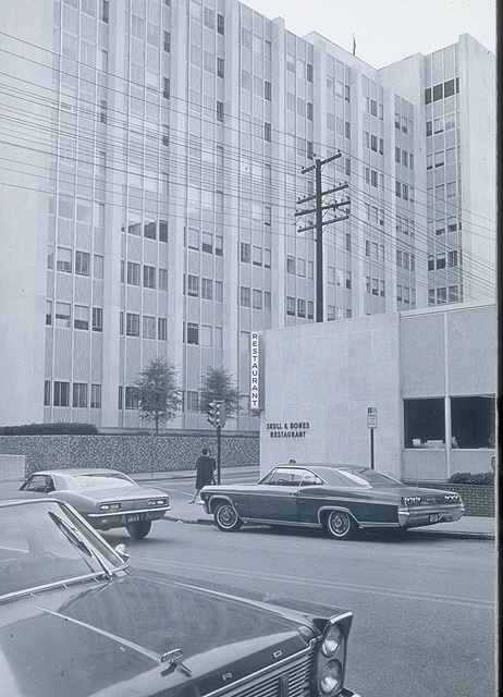 Skull and Bones Restaurant, MCV Hospital Richmond Va. 1970's