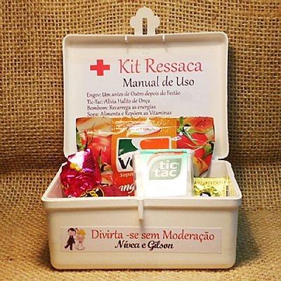 Lembrancinha de Casamento - Kit Ressaca, pra hora da festa! $9.90