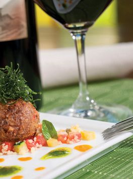 The perfect meal: Roasted Merguez Meatball with Ratatouille and ...