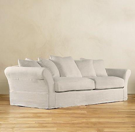 restoration hardware sofa new home pinterest
