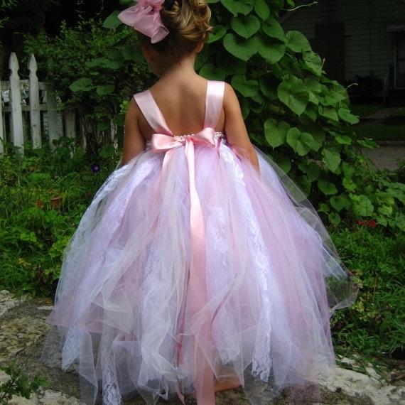 Flower girl dress. #tulledress | Etsy Stuff I love | Pinterest - photo #16