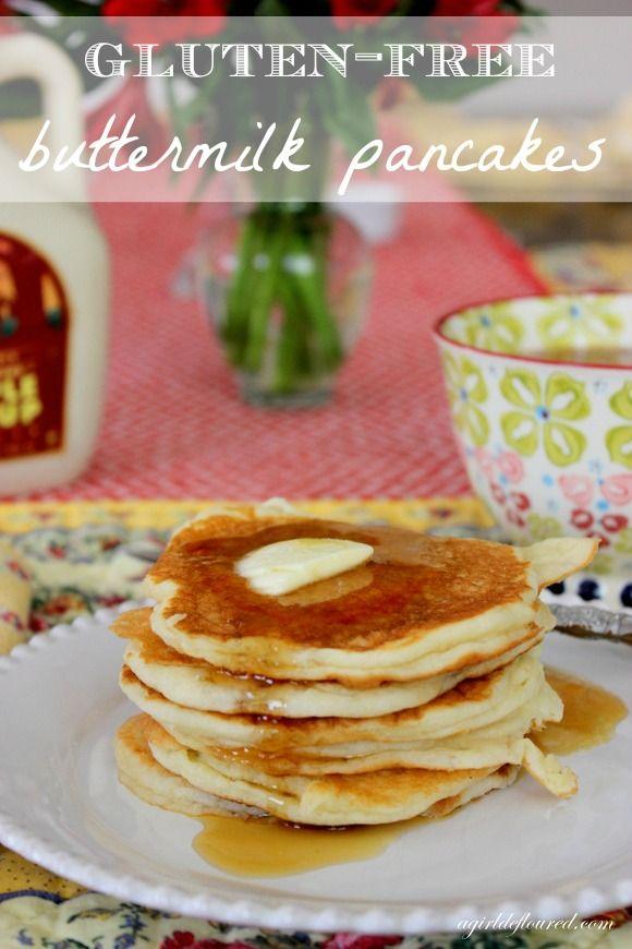 gluten-free buttermilk pancakes | Gf/df recipes | Pinterest