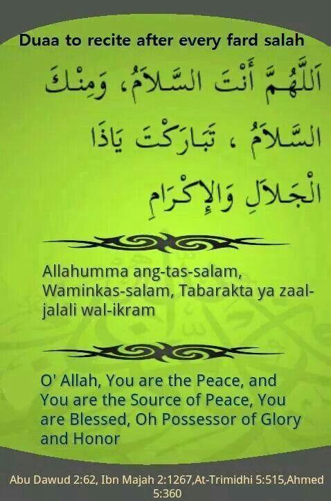 how to start the prayer in islam