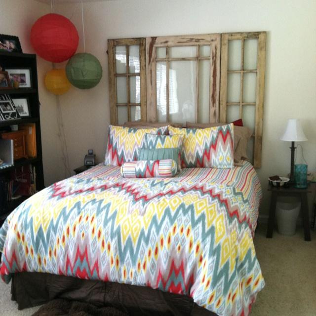 vintage headboard homemade bedroom pinterest