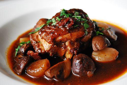 classic coq au vin | Favorite Recipes | Pinterest