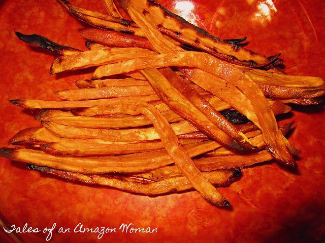 Oven Baked Sweet Potato Fries | Dinner Ideas | Pinterest