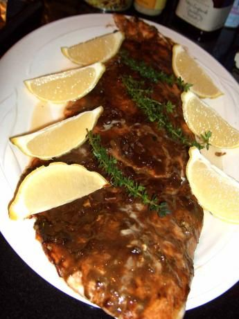 Balsamic-Glazed Salmon Fillets from Food.com: From a recipe by Isybel ...