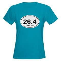 "26.4 ""I Got Lost"" Women's Marathon T-Shirt"