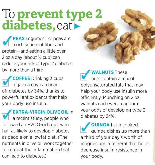 prevent diabetes The things you do now could help prevent diabetes later, depending on the type of diabetes here's the scoop on diabetes prevention.