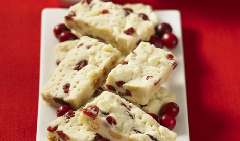 Cranberry & White Chocolate Shortbread | Christmas Goodies! | Pintere ...
