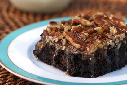 Pecan Turtle Black Cocoa Brownies | Tasty Kitchen: A Happy Recipe ...
