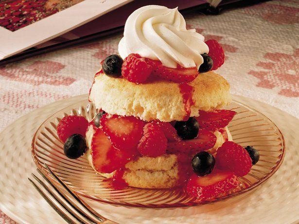 Frozen Berry Shortcake Recipes — Dishmaps