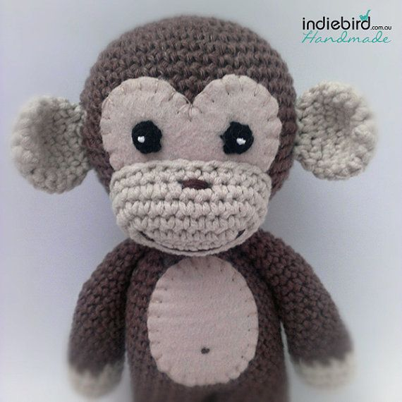 Amigurumi Crochet Monkey : Crochet Monkey Toy - Amigurumi