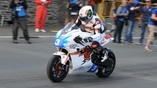 Electric motorcycle racing became a lot more interesting today when the TT Zero race at the Isle of Man was run and the top three riders all finished at average speeds of more than 100 mph.
