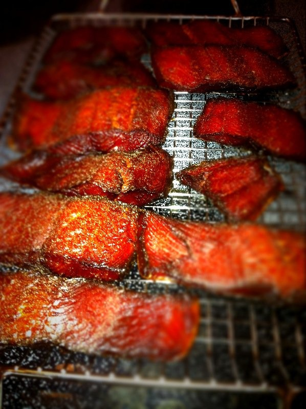 smoked salmon on the traeger traeger grilling pinterest