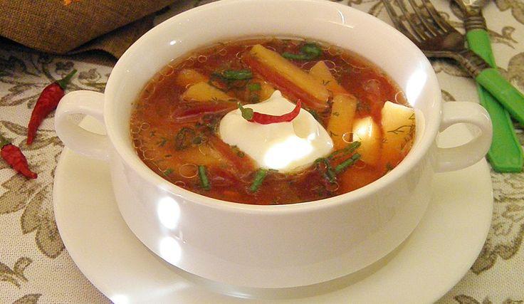 Обычный суп грибной рецепт
