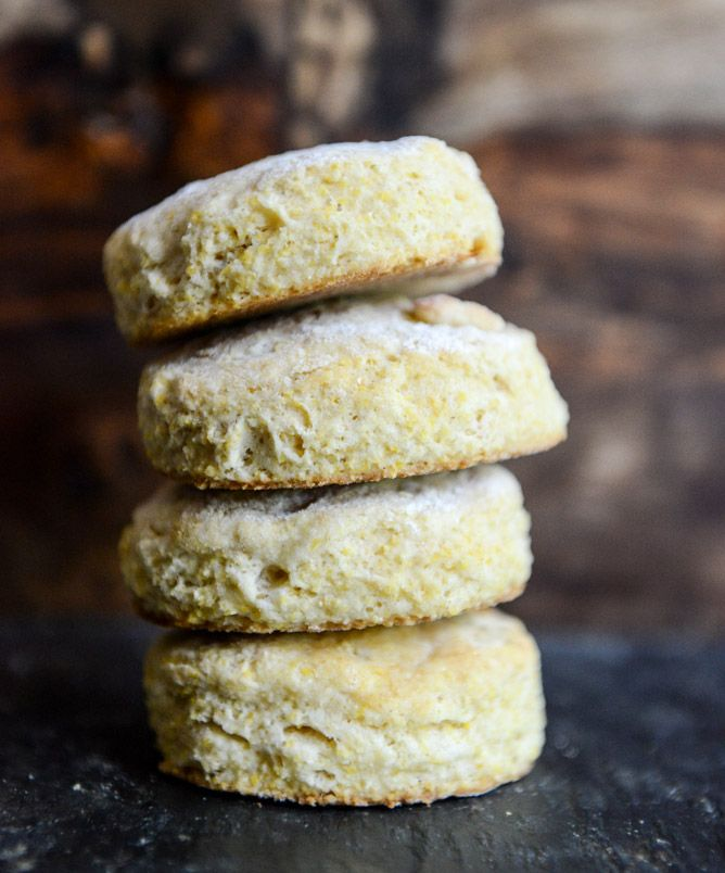 Crusty Buttermilk Biscuits Recipe — Dishmaps
