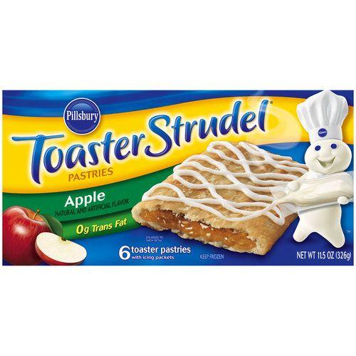 Pillsbury Apple Toaster Strudel Pastries, 11.5 oz (00018000655403 ...