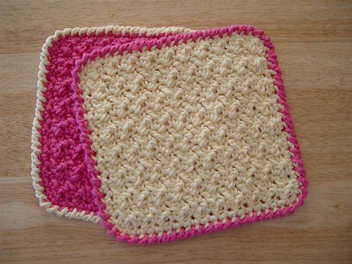 Knitting Patterns For Baby Washcloths : Baby Washcloths - Knit Crochet :) Pinterest