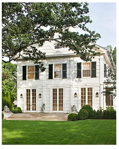 Pin by diana miller on exteriors pinterest for White french doors exterior
