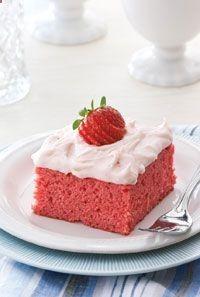 paula deen strawberry cake with jello