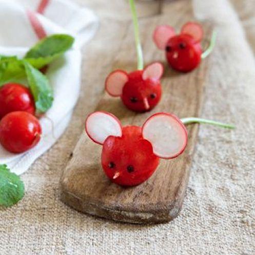 Entr e sal e radis cuisine originale pinterest for Cuisine originale