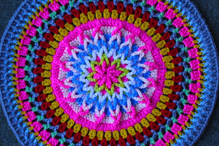 Mandala Sarah London Crochet Home Decor Pinterest