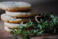 Lemon Thyme Shortbread Cookies   Food Drink Kitchen   Pinterest