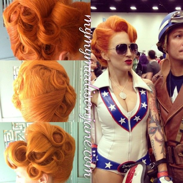 Madison jane possible poison ivy hair cosplay pinterest