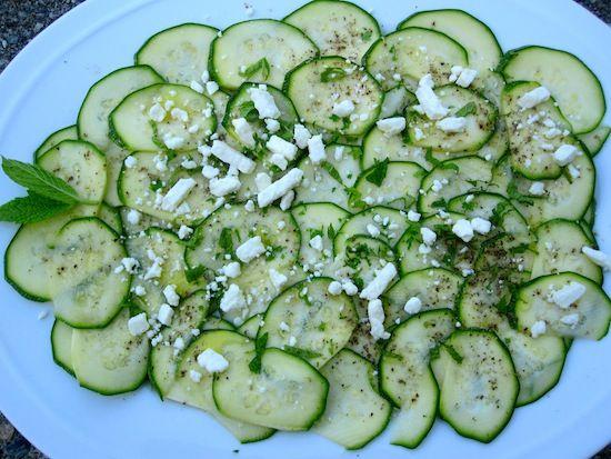 Zucchini+Carpaccio   salads   Pinterest