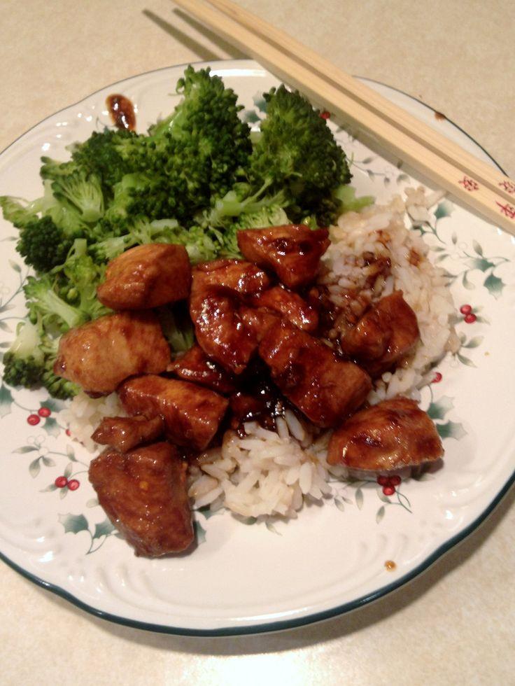 Bourbon Chicken | Yummy food | Pinterest