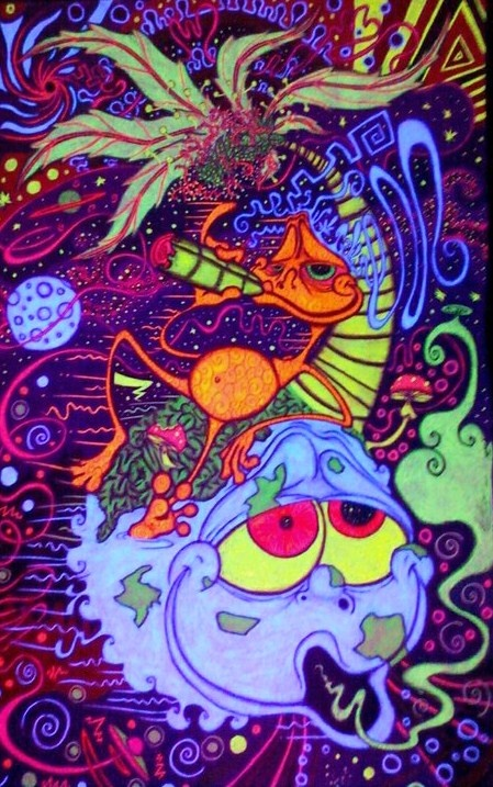 art aliens psychedelic - photo #23